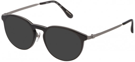 Dunhill VDH160G sunglasses in Shiny Grey Carbon Fibre