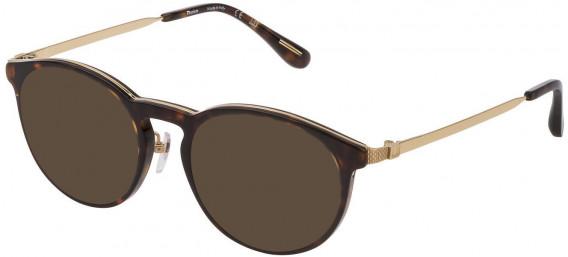 Dunhill VDH160G sunglasses in Shiny Dark Havana