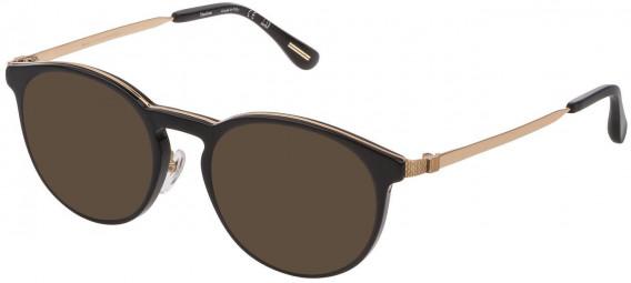 Dunhill VDH160G sunglasses in Shiny Black