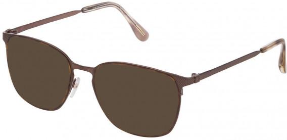 Dunhill VDH159M sunglasses in Semi Matt Brown