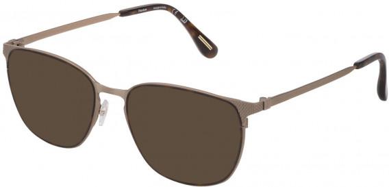 Dunhill VDH159M sunglasses in Semi Matt Grey Gold