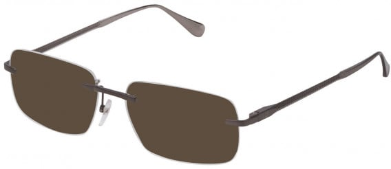 Dunhill VDH158 sunglasses in Shiny Gun
