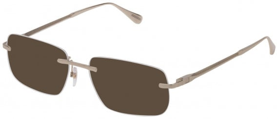 Dunhill VDH158 sunglasses in Shiny Rose Gold
