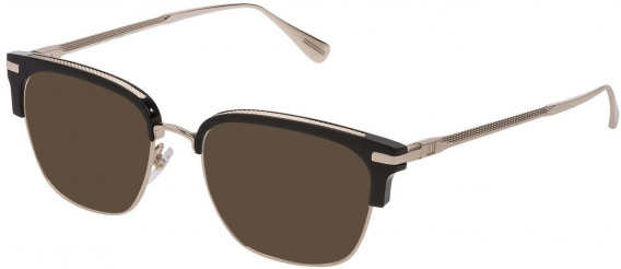 Dunhill VDH157 sunglasses in Shiny Rose Gold