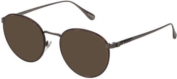 Dunhill VDH152M sunglasses in Matt Ruthenium