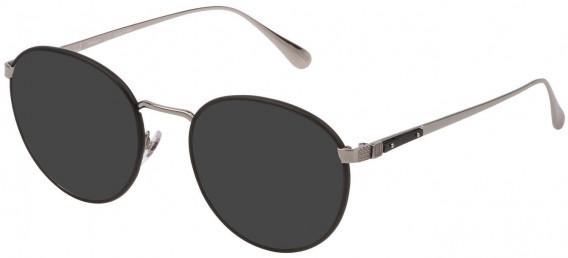 Dunhill VDH152M sunglasses in Shiny Full Palladium