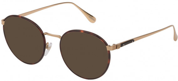 Dunhill VDH152M sunglasses in Shiny Rose Gold