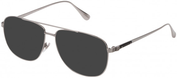 Dunhill VDH151M sunglasses in Shiny Full Palladium