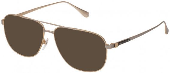 Dunhill VDH151M sunglasses in Shiny Rose Gold/Shiny Palladium