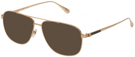 Dunhill VDH151M sunglasses in Shiny Rose Gold