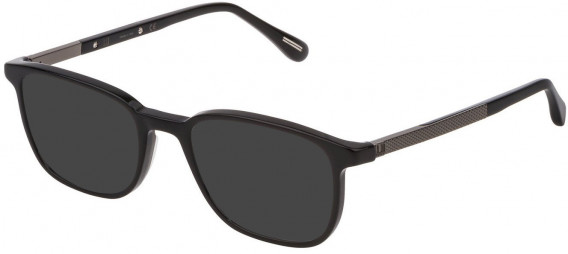 Dunhill VDH148 sunglasses in Shiny Black