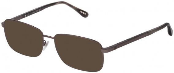 Dunhill VDH147G sunglasses in Matt Ruthenium