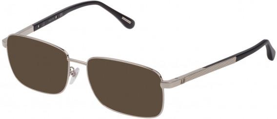 Dunhill VDH147G sunglasses in Shiny Full Palladium