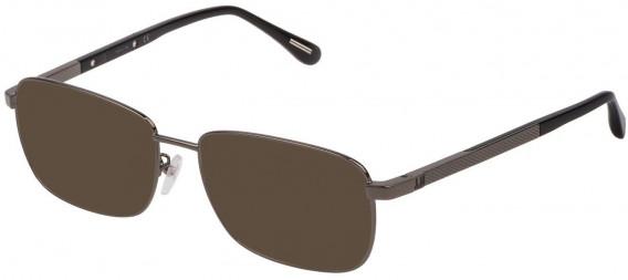 Dunhill VDH147G sunglasses in Shiny Gun