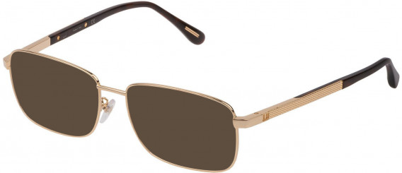 Dunhill VDH147G sunglasses in Shiny Rose Gold