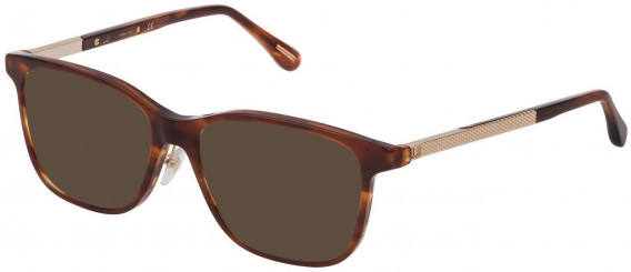 Dunhill VDH146G sunglasses in Shiny Striped Brown