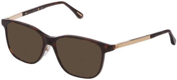 Dunhill VDH146G sunglasses in Shiny Dark Havana