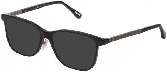 Dunhill VDH146G sunglasses in Shiny Black