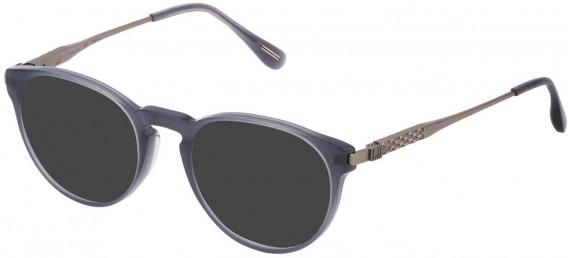 Dunhill VDH144 sunglasses in Shiny Opal Grey