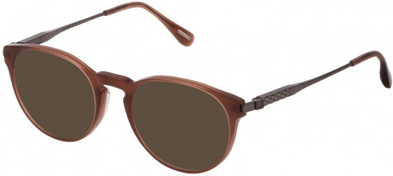 Dunhill VDH144 sunglasses in Shiny Opal Brown