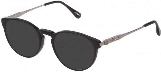 Dunhill VDH144 sunglasses in Shiny Black