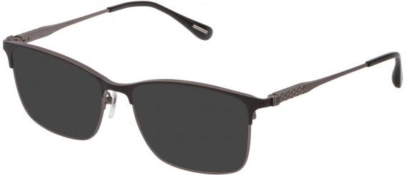 Dunhill VDH143G sunglasses in Matt Ruthenium