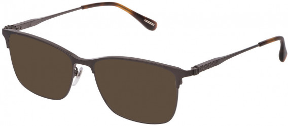 Dunhill VDH143G sunglasses in Shiny Gun
