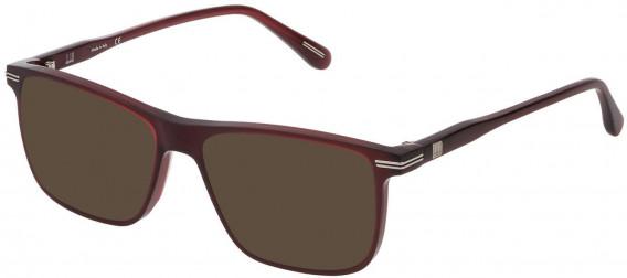 Dunhill VDH142 sunglasses in Shiny Opal Bordeaux