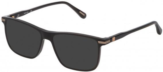 Dunhill VDH142 sunglasses in Shiny Black