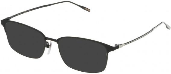 Dunhill VDH122 sunglasses in Shiny Black