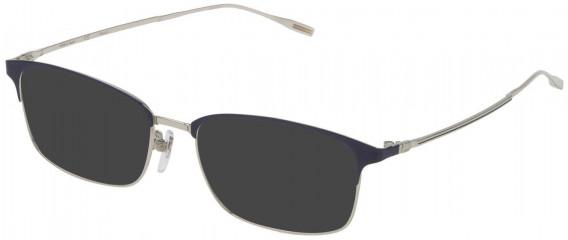 Dunhill VDH122 sunglasses in Shiny Palladium