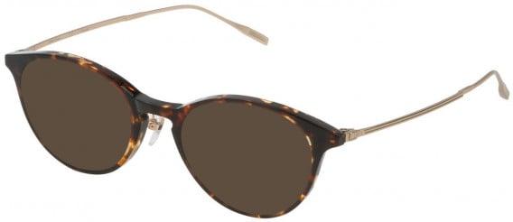 Dunhill VDH120G sunglasses in Shiny Classic Havana