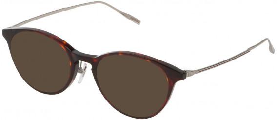Dunhill VDH120G sunglasses in Brown/Honey Havana