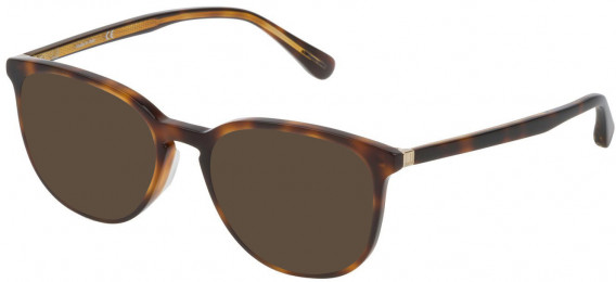 Dunhill VDH119 sunglasses in Havana Brown