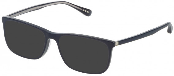 Dunhill VDH118G sunglasses in Shiny Full Blue