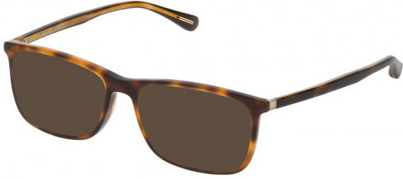 Dunhill VDH118G sunglasses in Havana Brown