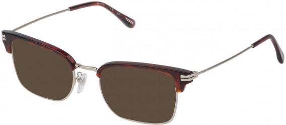 Dunhill VDH117 sunglasses in Shiny Full Palladium