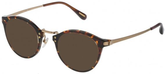 Dunhill VDH114G sunglasses in Shiny Classic Havana