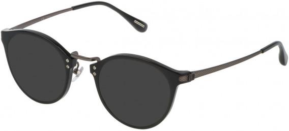 Dunhill VDH114G sunglasses in Shiny Black