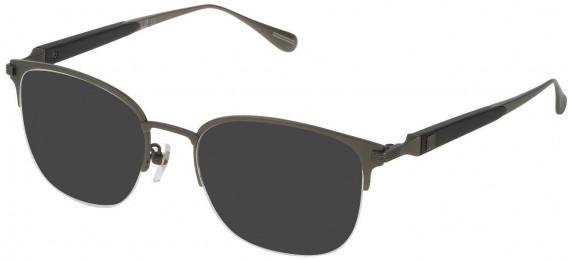 Dunhill VDH113M sunglasses in Matt Ruthenium