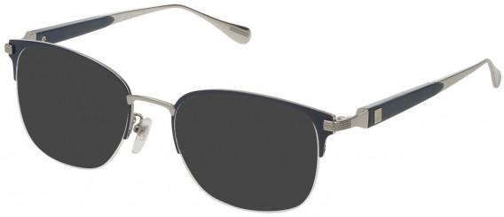 Dunhill VDH113M sunglasses in Shiny Palladium