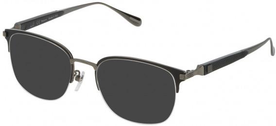 Dunhill VDH113M sunglasses in Shiny Ruthenium