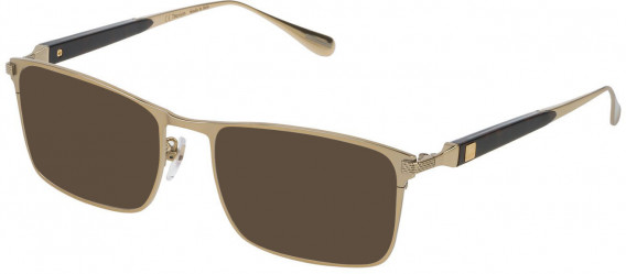 Dunhill VDH112M sunglasses in Shiny Grey Gold