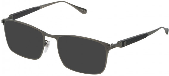 Dunhill VDH112M sunglasses in Matt Ruthenium