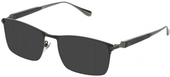 Dunhill VDH112M sunglasses in Shiny Ruthenium