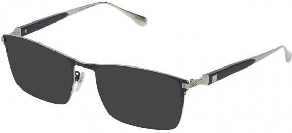 Dunhill VDH112M sunglasses in Shiny Palladium