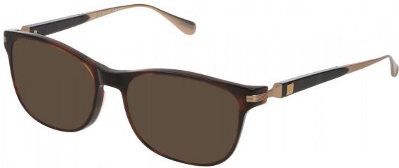 Dunhill VDH111G sunglasses in Shiny Dark Havana