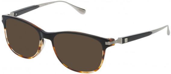 Dunhill VDH111G sunglasses in Black/Havana