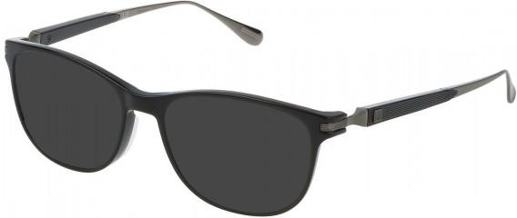 Dunhill VDH111G sunglasses in Shiny Black