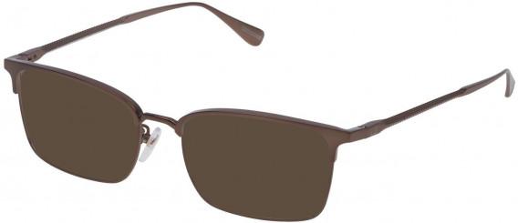 Dunhill VDH086M sunglasses in Semi Matt Bronze
